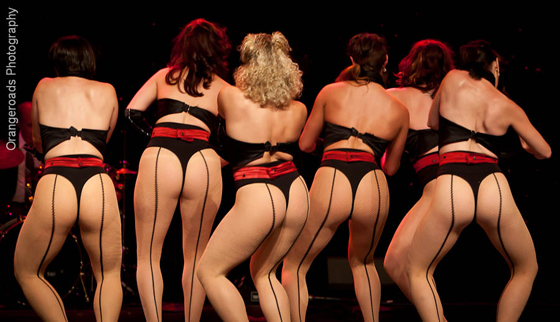 BEST GROUP: The Peek-A-Boo Revue, competing for \'Best Group\'. ©OrangeRoads Photography