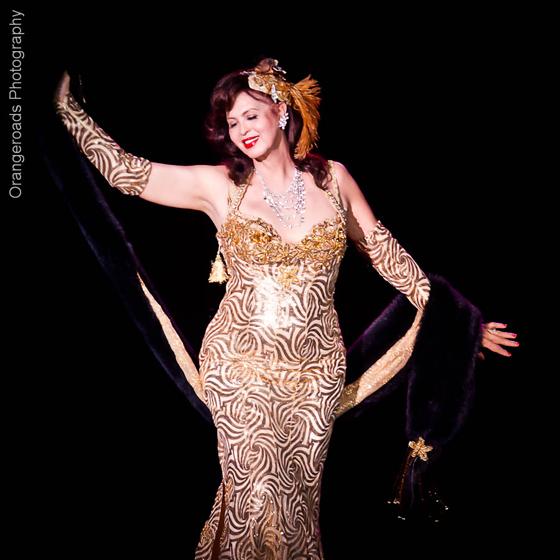 Burlesque Legend, Marinka. ©OrangeRoads Photography