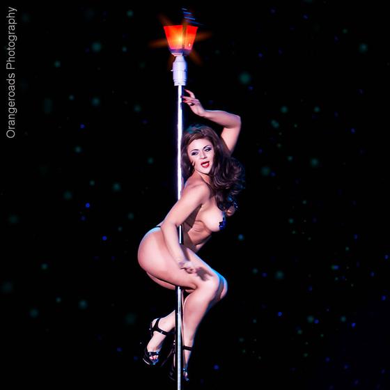 Roxi D\'Lite (Miss Exotic World/Reigning Queen 2010). ©OrangeRoads Photography