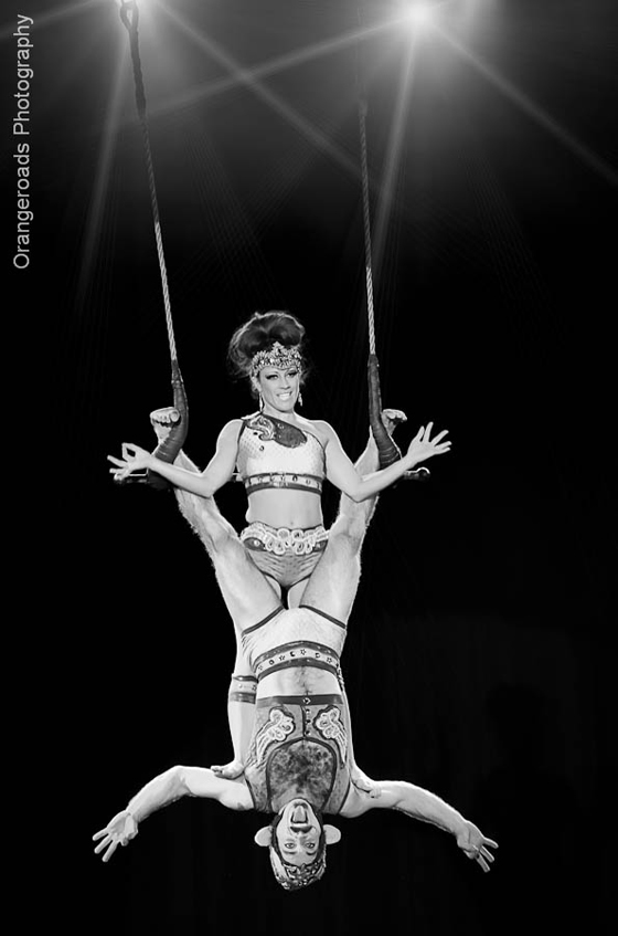 Trixie Little (2nd Runner Up 2012) and The Evil Hate Monkey (Best Boylesque 2010). ©OrangeRoads Photography