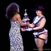 Most Dazzling: Perle Noire receives her trophy... ©OrangeRoads Photography
