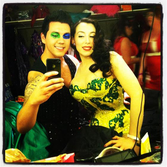 Bobbie Burlesque and Evie Lovelle. ©Bobbie Burlesque