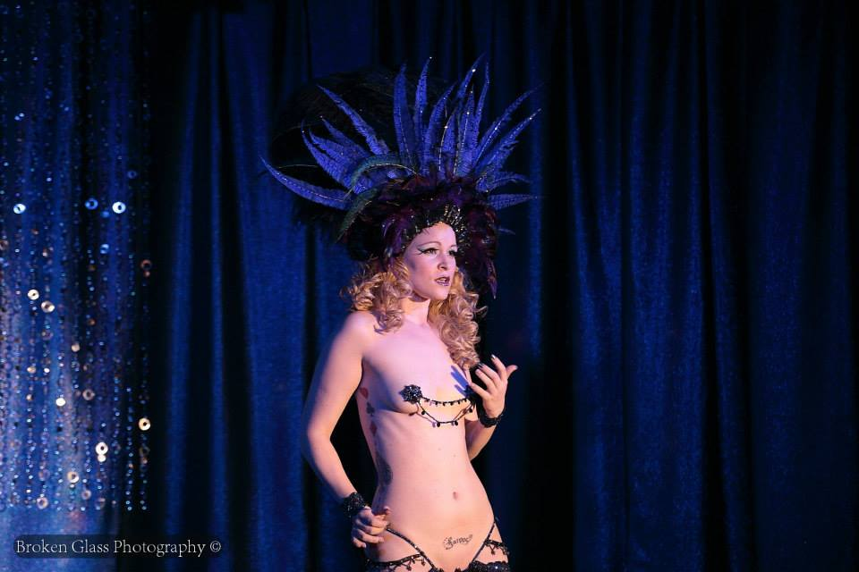 Dangrr Doll at the Colorado Burlesque Festival.  ©Broken Glass Photography