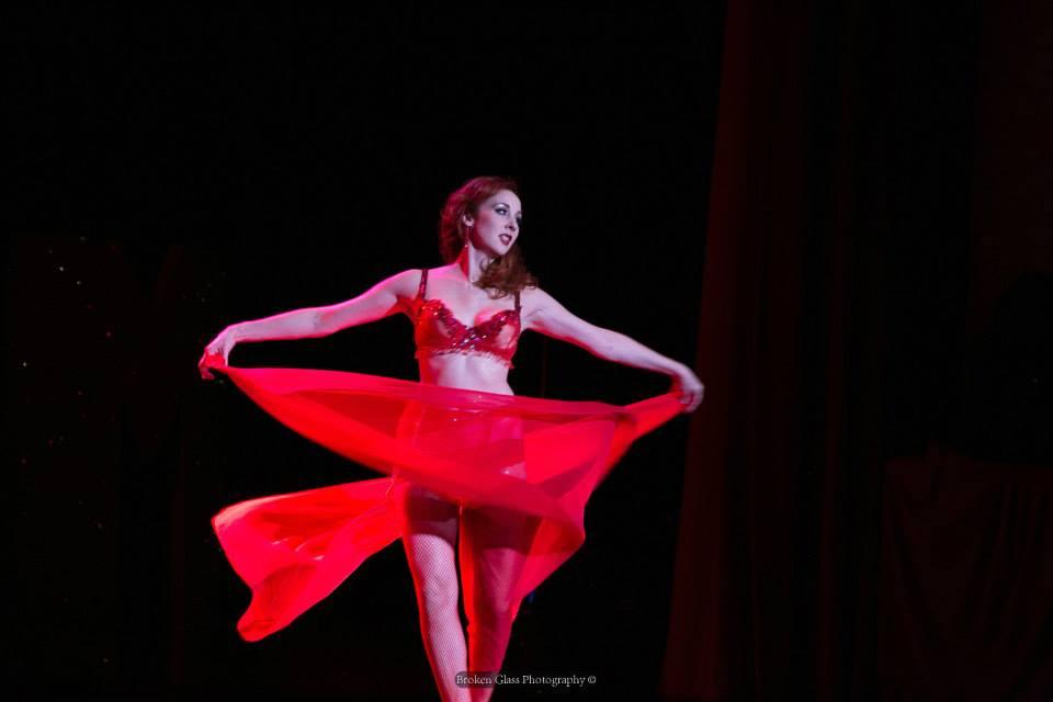 Ruby Joule at the Colorado Burlesque Festival.  ©Broken Glass Photography