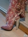 Dita's 'Rhinestone Cowgirl' boots, embellished by Catherine D'Lish. ©Dita.net