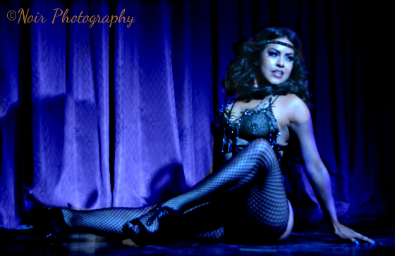 Chica Boom in the San Francisco Dixie Evans Week Show. ©Noir Photography