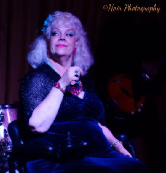 Hoiday O\'Hara in the San Francisco Dixie Evans Week Show. ©Noir Photography