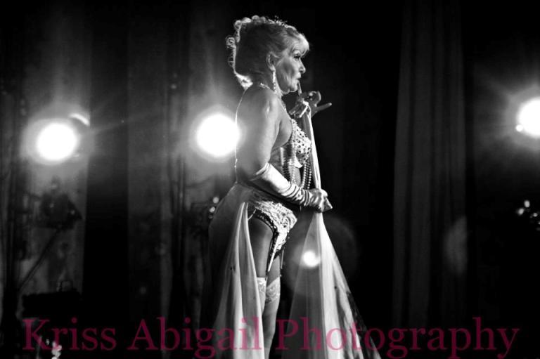 Burlesque Legend Judith Stein.  ©Kriss Abigail