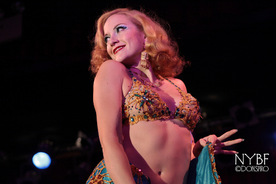 Gal Friday at the New York Burlesque Festival 2013.  ©Don Spiro