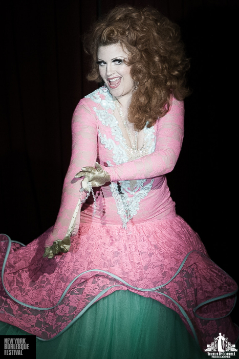 Kitten LaRue at the New York Burlesque Festival 2013.  ©Angela McConnell