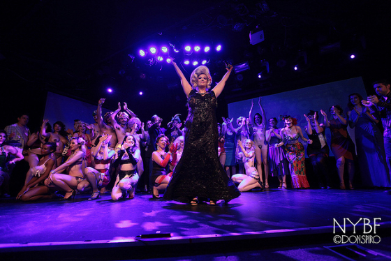 Curtain Call at the NYBF Thursday Night Teaser Party.      ©Don Spiro