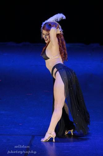 Angi B Lovely at the San Antonio Burlesque Festival.   ©Wildun Photography