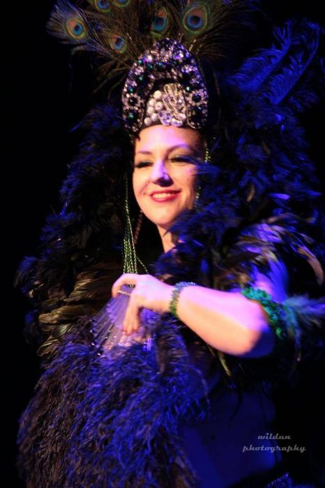 Frenchie Renard at the San Antonio Burlesque Festival.   ©Wildun Photography