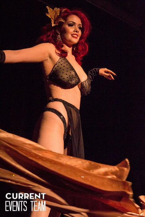 Minxie Mimieux at the San Antonio Burlesque Festival.   ©San Antonio Current