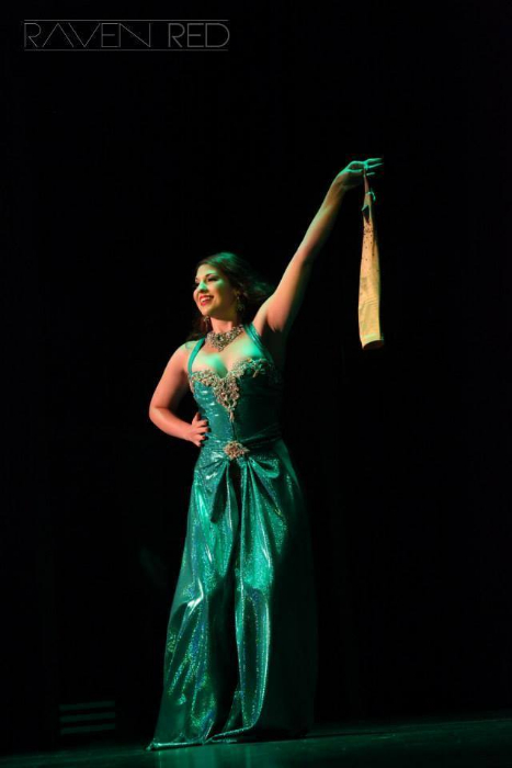 Renee Holiday at the San Antonio Burlesque Festival.   ©Raven Red