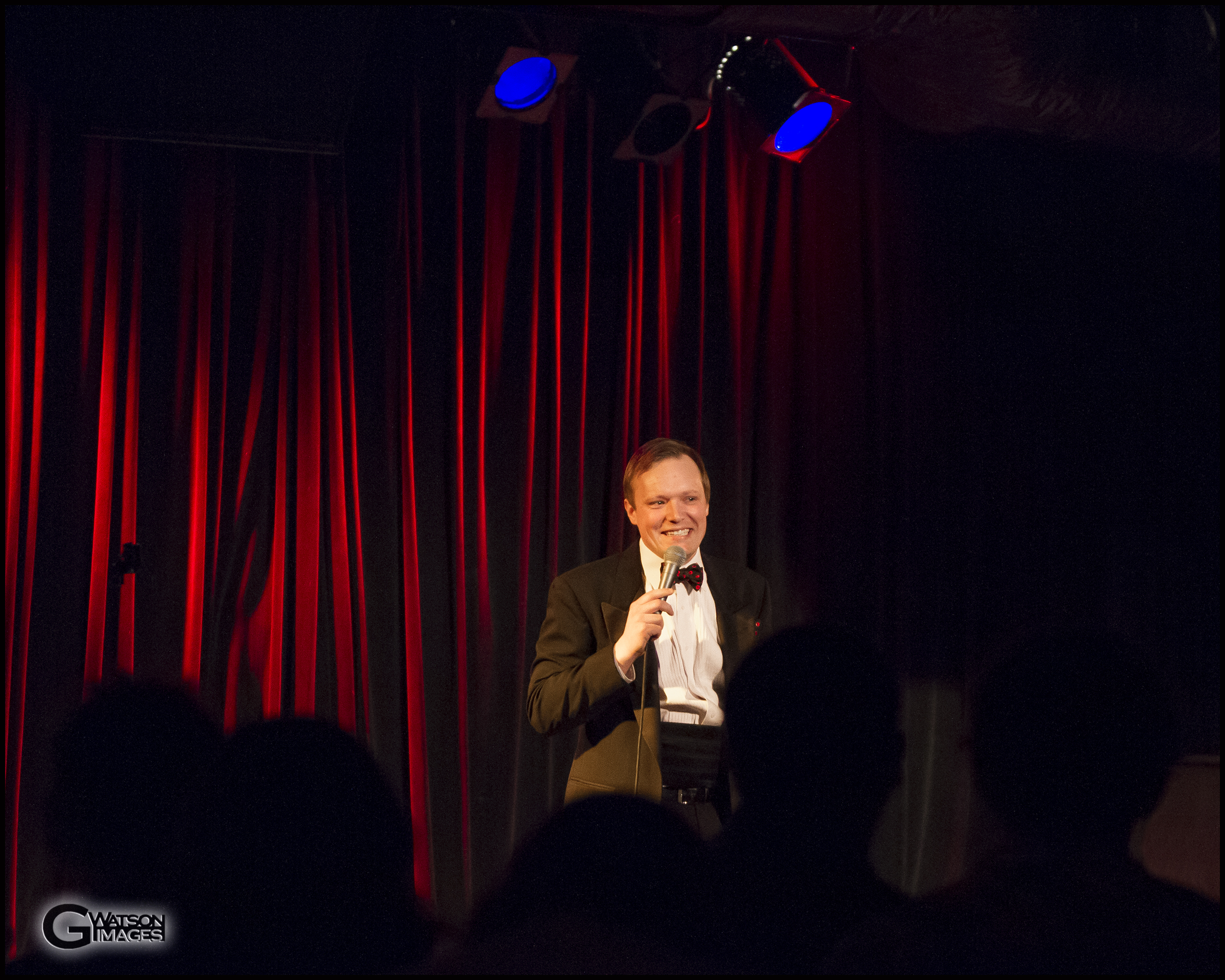 Edmund Birch hosts Michelle L\'amour\'s Old Time Strip Show   ©G.Watson Images