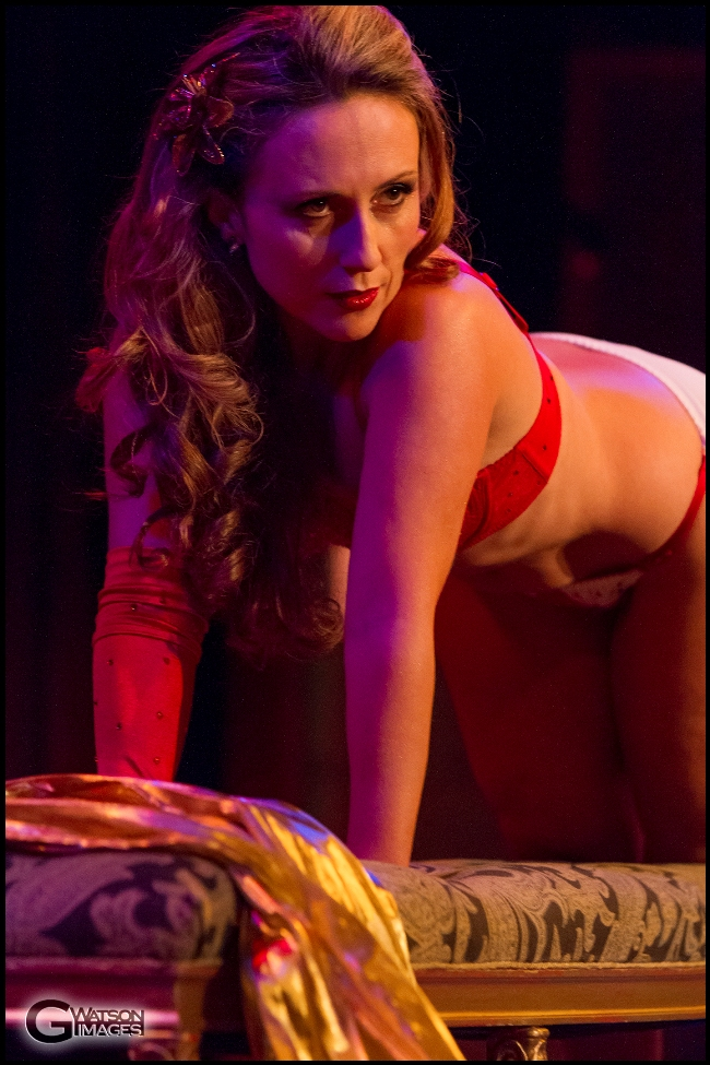 Michelle L\'amour\'s Old Time Strip Show   ©G.Watson Images
