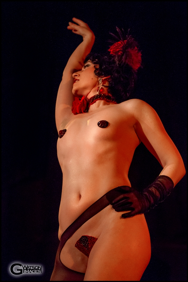Michelle L\'amour in Michelle L\'amour\'s Old Time Strip Show   ©G.Watson Images