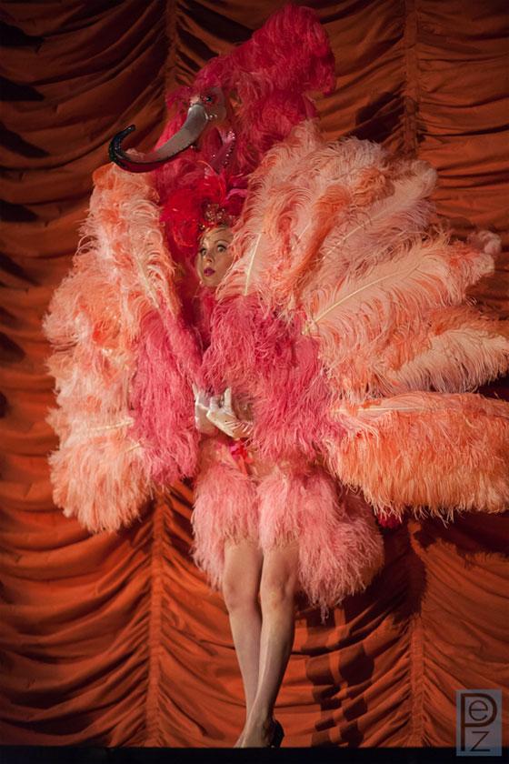 Current Reigning Queen of Burlesque Imogen Kelly.  ©PEZ Photo