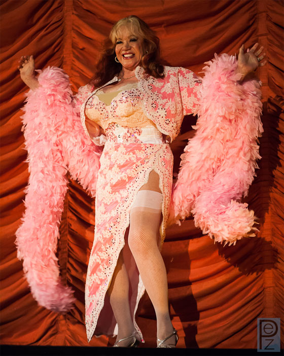 Burlesque legend Kitten Natividad.  ©PEZ Photo