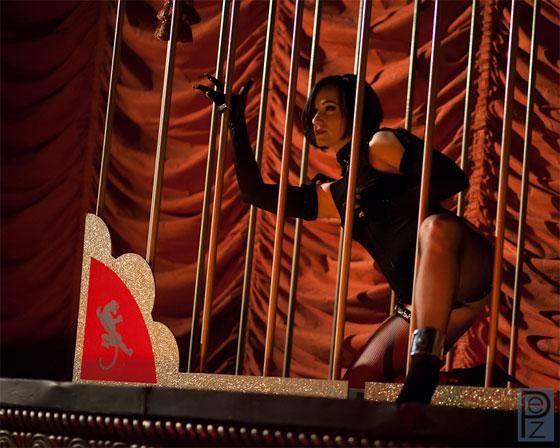 Michelle L\'amour performing \'La Panthere\'.  ©PEZ Photo
