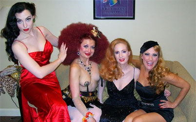 Behind the Curtain at the New Orleans Burlesque Festival with Trixie Little