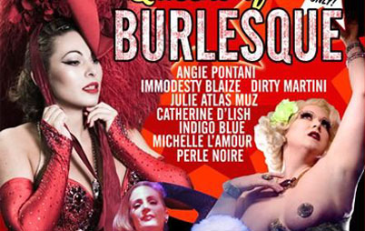 "The Queens of Burlesque: ""Legends in the Shaking"""
