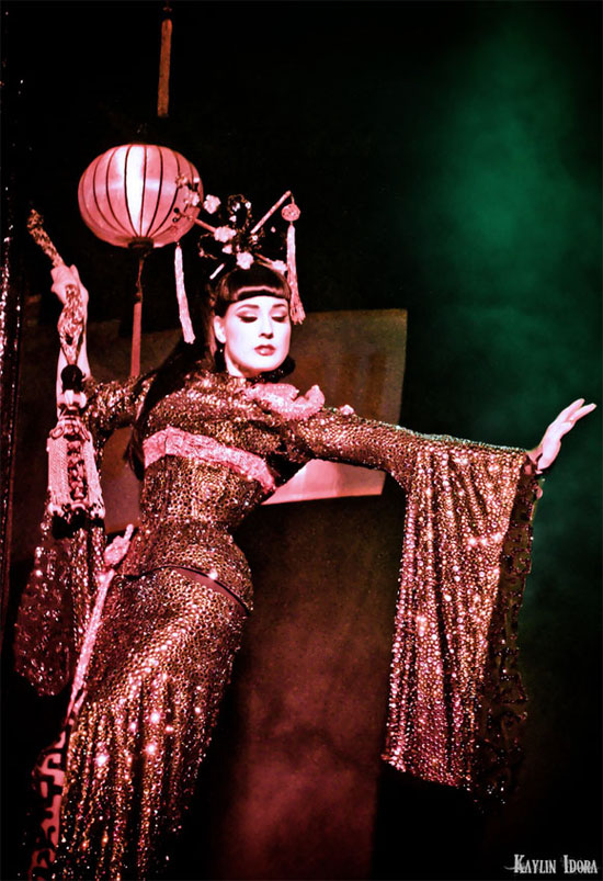 Dita performs The Opium Den  (©Kaylin Idora - Please respect copyright and request permission for use.)