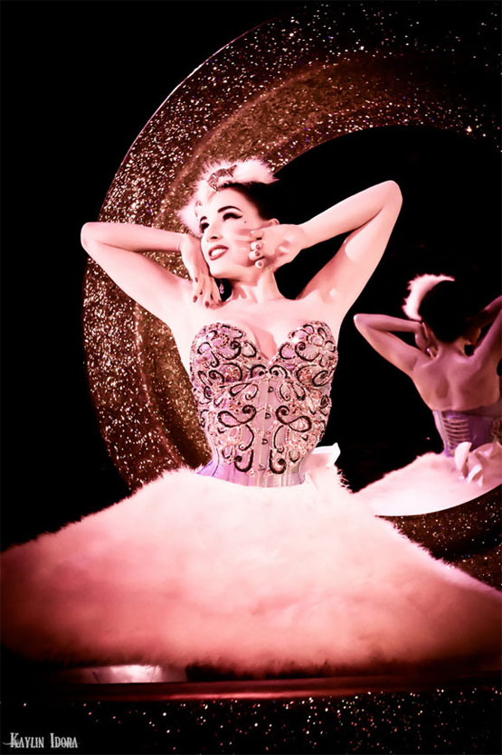 Dita von Teese   (©Kaylin Idora - Please respect copyright and request permission for use.)