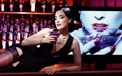 Dita von Teese talks Cocktails, Clubs and Catwalks…