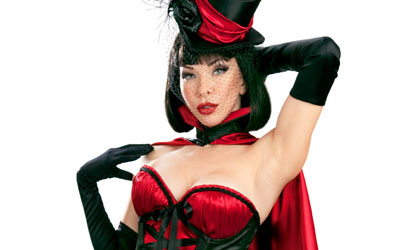 The Lady is a Vamp: Halloween Fashion Special
