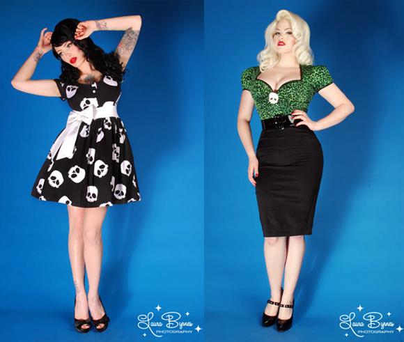 Deadly Dames at PinupGirlClothing ©Laura Byrne