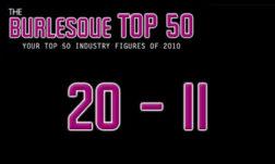 The Burlesque TOP 50 2010: 20 - 11