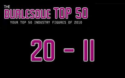 The Burlesque Top 50 2010: 20 – 11