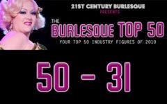 The Burlesque Top 50 2010: 50 - 31