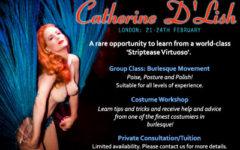 Catherine D'Lish: London 21 - 24th February