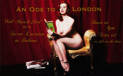 Naked Girls Reading launches in London…
