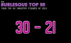 The Burlesque TOP 50 2011: 30 – 21