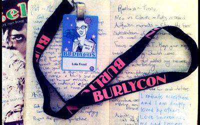 Lola Frost's BurlyCon Diary
