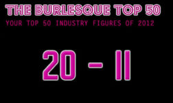 THE BURLESQUE TOP 50 2012: 20 - 11