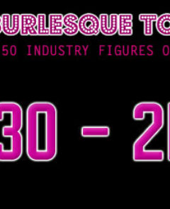 THE BURLESQUE TOP 50 2012: 30 - 21