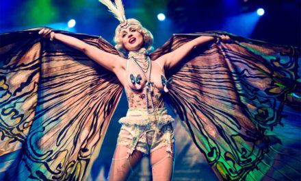 Kaylin Idora at the Helsinki Burlesque Festival