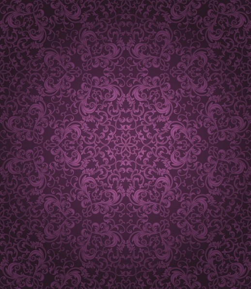 Bed sheet patterns texture - Violet Classical Pattern Background 1 21st Century Burlesque