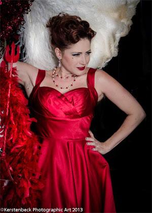 Lady Borgia.  ©Kerstenbeck Photographic Art 2013  (Burlesque Hall of Fame Weekend 2013)
