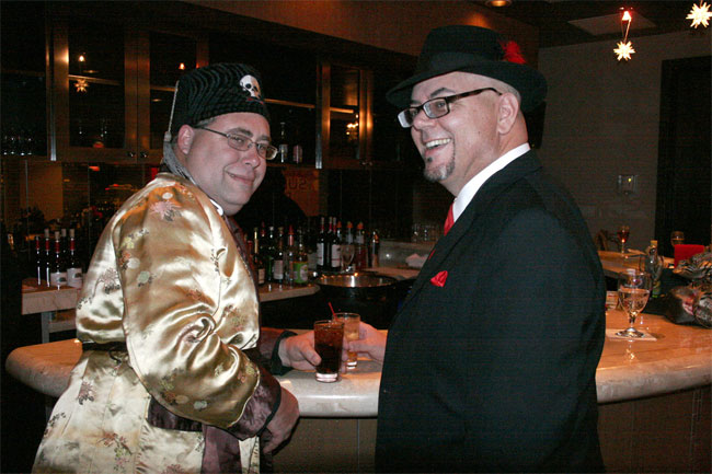 Dr Shocker and Kingfish at the Sublime Boudoir Soirée. ©Don Spiro  (Burlesque Hall of Fame Weekend 2013)