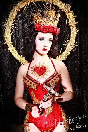 Eliza DeLite.  ©Neil Kendall  (Burlesque Hall of Fame Weekend 2013)