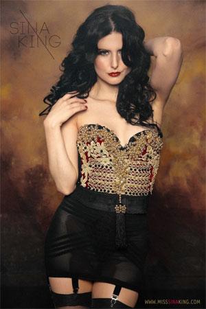 Sina King. ©  (Burlesque Hall of Fame Weekend 2013)