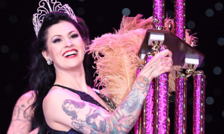 Photos: LouLou D'vil is crowned Miss Exotic World, Reigning Queen of Burlesque 2013.