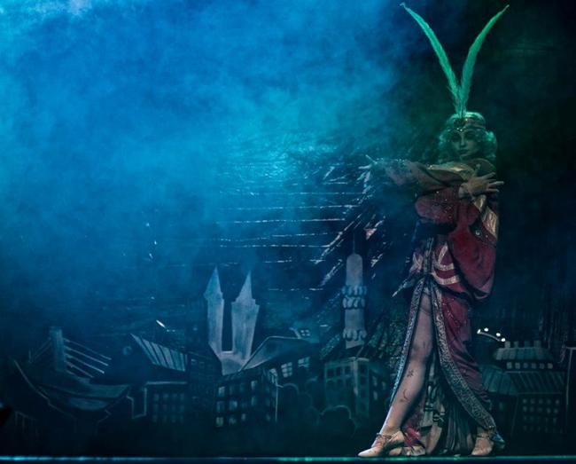 Lyalya Bezhetskaya ©Emiliano Melandri   (Helsinki Burlesque Festival)