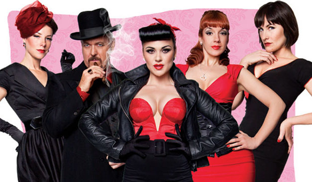 Burlesque Assassins now on DVD and Digital Download.